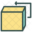Return Delivery Shipping Icon