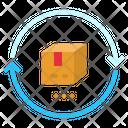 Return Clockwise Two Icon