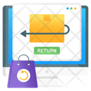 Order Return Return Policy Order Refund Icon