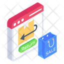 Order Return Return Shopping Refund Policy Icon