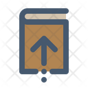 Return Book Library Icon