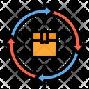 Returns Delivery Logistics Icon