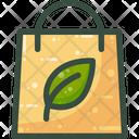 Reusable Bag Green Icon
