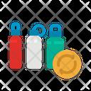 Reusable Bottle Ecology Icon