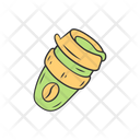 Reusable Coffee Cup Icon