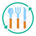 Cutlery Dinner Fork Icon