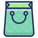 Reusable Hand Bag Icon