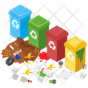 Reusable Products Waste Products Garbage Icon