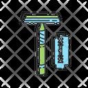Reusable Razor Zero Icon