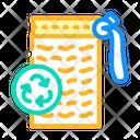 Reusable Sponge Sponge Zero Icon
