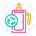 Reusable Water Bottle Soft Water Icon