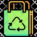 Reuse Bag Reuse Bag Reusable Icon