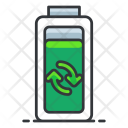 Reuse Battery Ecology Icon