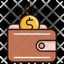 Revenue Wallet Cash Icon
