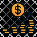 Revenue Growth Money Icon