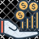 Revenue Income Revenues Icon
