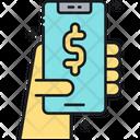 Revenue Income Online Money Icon