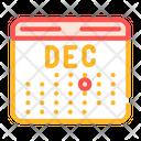 Accounting Revenue Calendar Icon