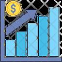 Revenue Profit Growth Icon