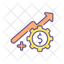 Revenue Potential For Autonomous Manufacturing Icon