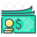 Revenues Money Currency Icon