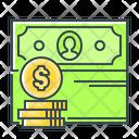 Revenues Yield Income Icon