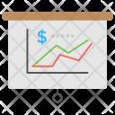 Revenues graph Icon