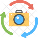 Camera Rotation Reverse Icon