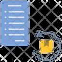 Reverse Contract Contract Return Icon