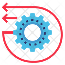 Engineering Reverse Ai Icon