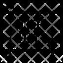 Back Copyright Binary Icon