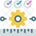 Back Gear Machinery Icon