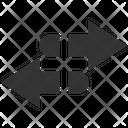 Reverse Arrows Transfer Icon