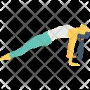 Reverse Plank Icon