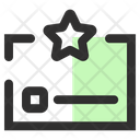 Business Rating Star Icon