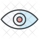 Review Vision Eye Icon