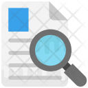 Review Search File Icon
