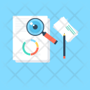 Review Magnifying Analysis Icon