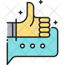 Msocial Media Review Support Icon