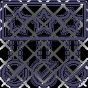 Complete Check Stars Icon
