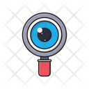 Review Search Magnifier Icon