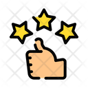 Review Quality Rating Icon
