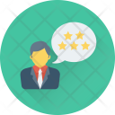 Review Customer Satisfaction Icon