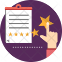 Review Star Note Icon