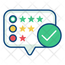 Review Feedback Ratings Icon