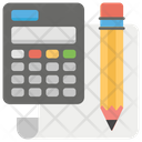 Review Accounts Calculating Accounting Icon