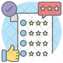 Review Paper Feedback Survey Icon