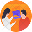 Review Report Report Checking Patient Report Icon