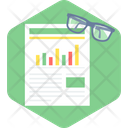 Review Report Patient Report Health Report Icon