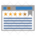 Layout Stars Review Icon